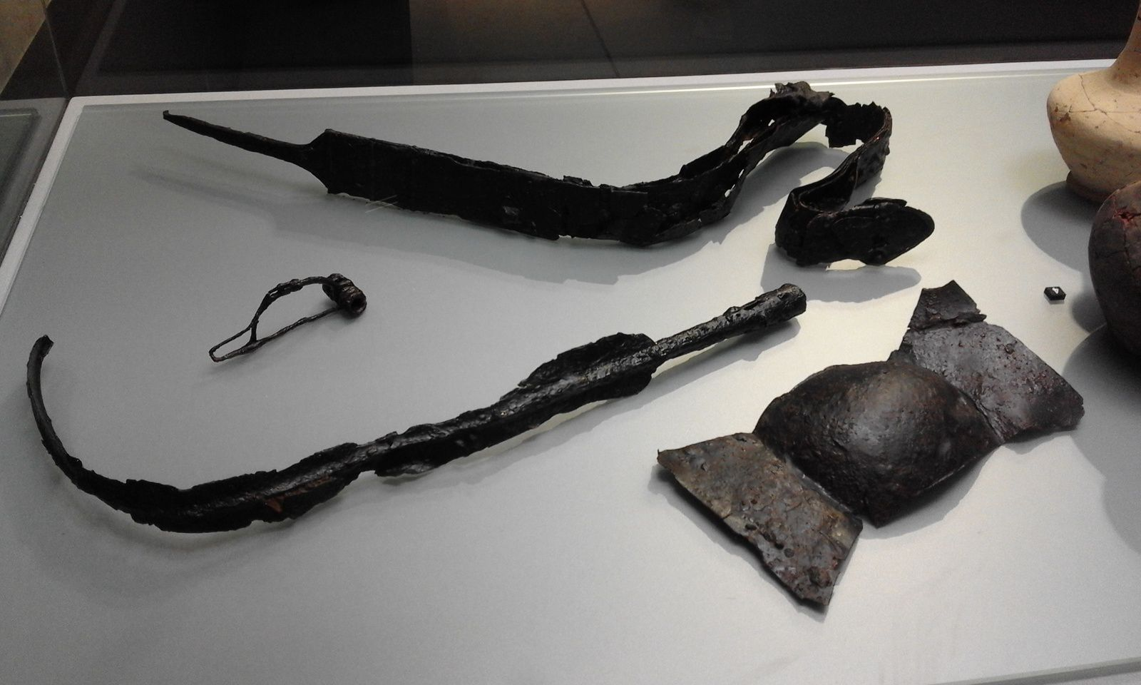 photos des sorties de septembre 2017 à février 2018 : oppidum de Murviel les montpellier, expo musée fabre, argileum, musée d'art brut, expo lattes, hotel sabatier d'espeyran