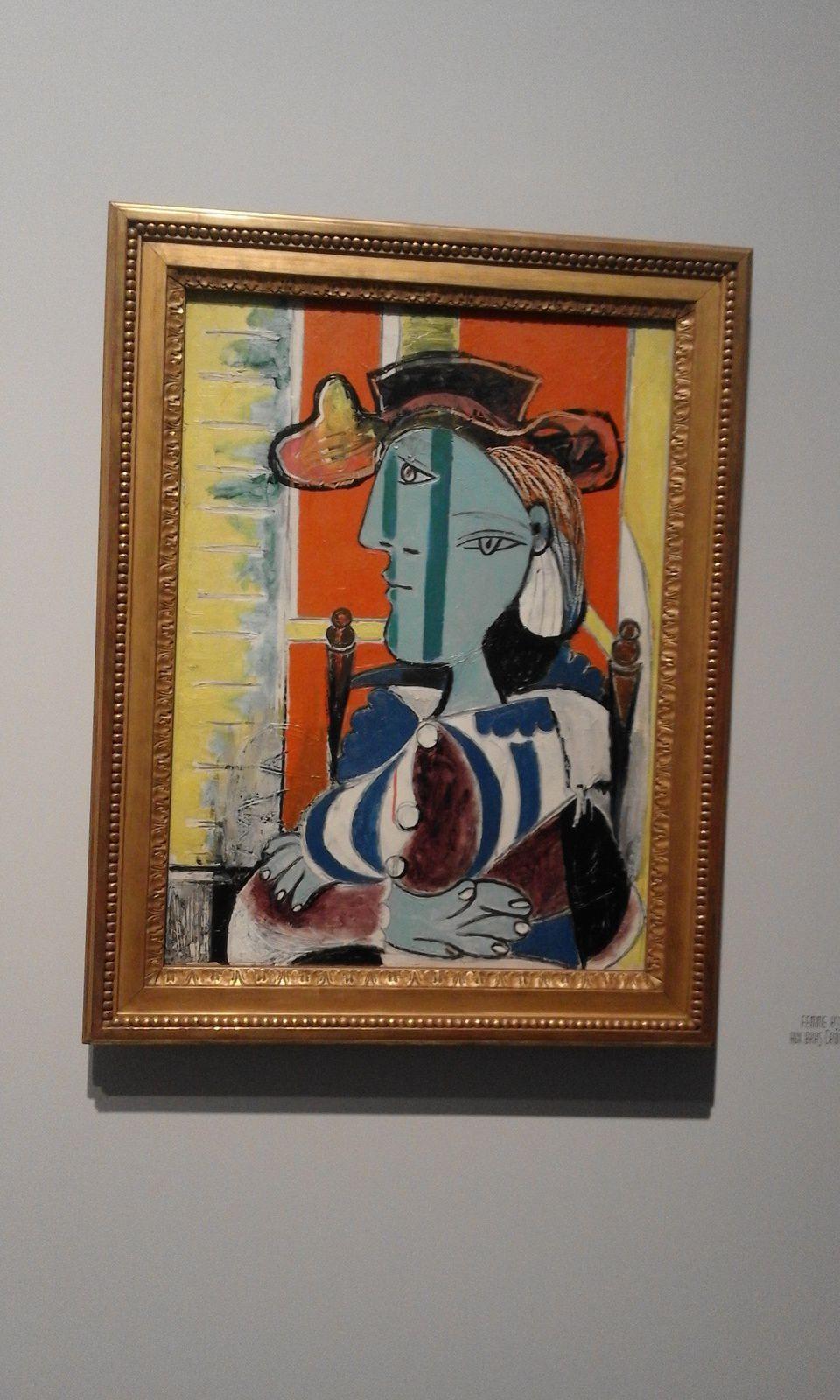 visite de l'expo Picasso Montpellier en septembre 2018
