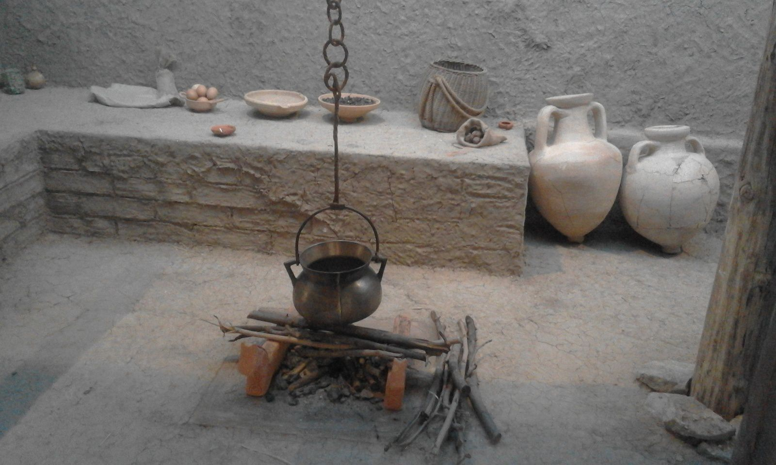 visite de l'expo et du musée Lattara en novembre 2018
