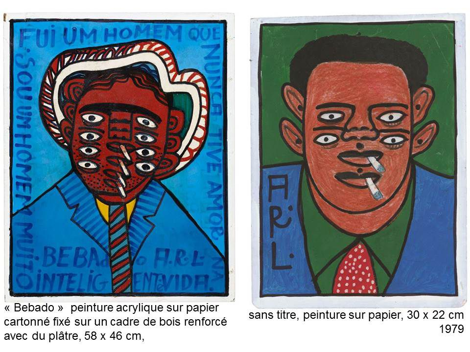quelques oeuvres de la séance art brut (en images: 2 oeuvres par artistes bruts/Wölfli, Aloïse, carlo Zinelli, jean perdrizet, grégory blackstock, helmut nimczewski, yves jules fleuri, augustin lesage, joseph crépin, laure pigeon, henriette zephir, magali herrera, scottie wilson, arl, dubuffet, chaissac, sanfourche, paul amar, acm, le musée d'art brut de montpellier (collection fernand michel)
