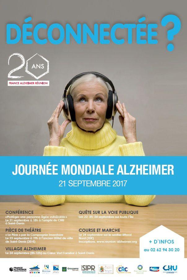Journée Mondiale Alzheimer le 21 Septembre 2017