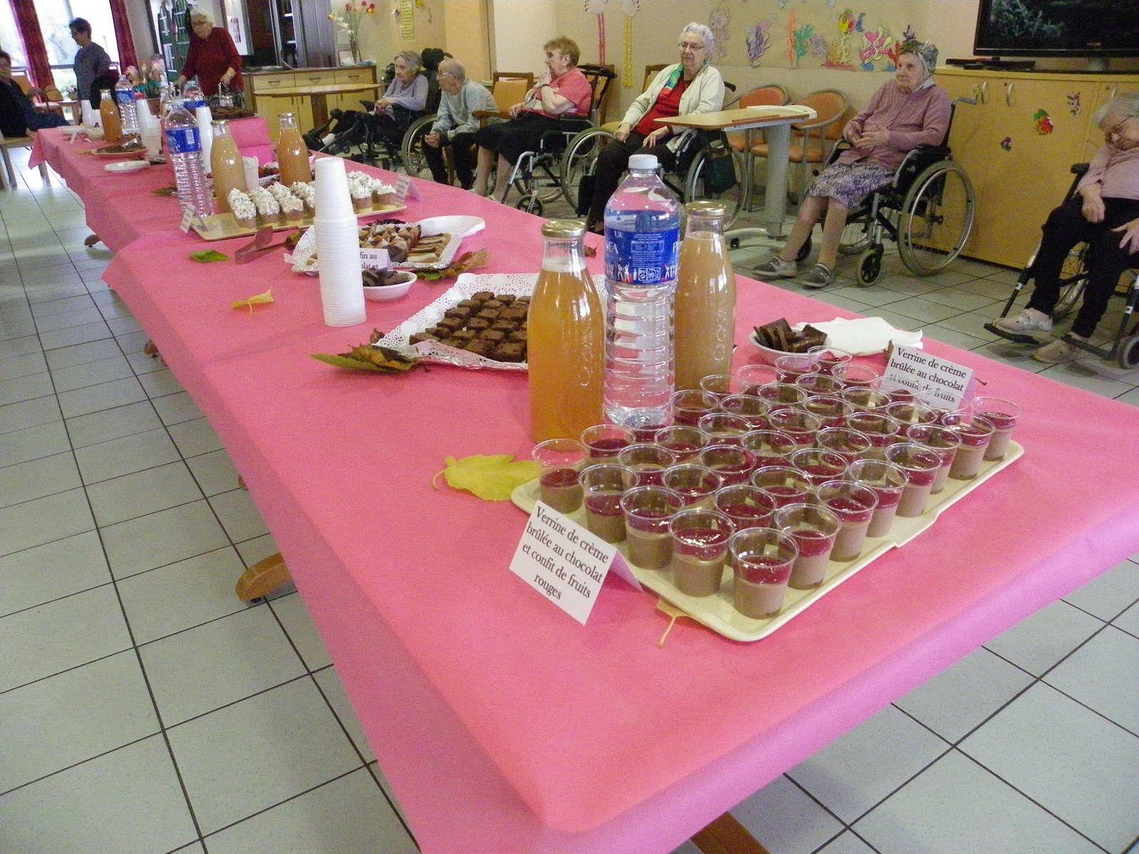 Salon du chocolat, le 5 Novembre