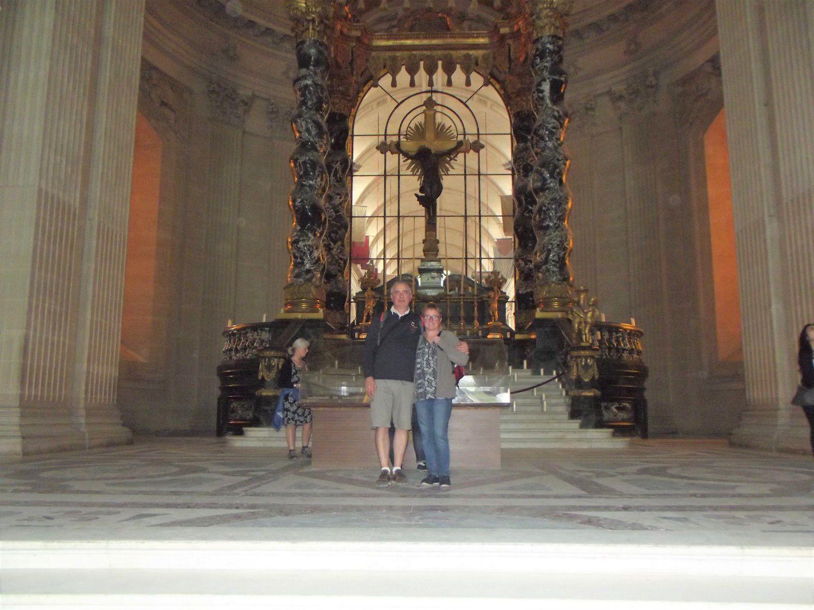 VISITE AU MUSEE DE L'ARMEE (3) .....TOMBEAU DE NAPOLEON 1ER .