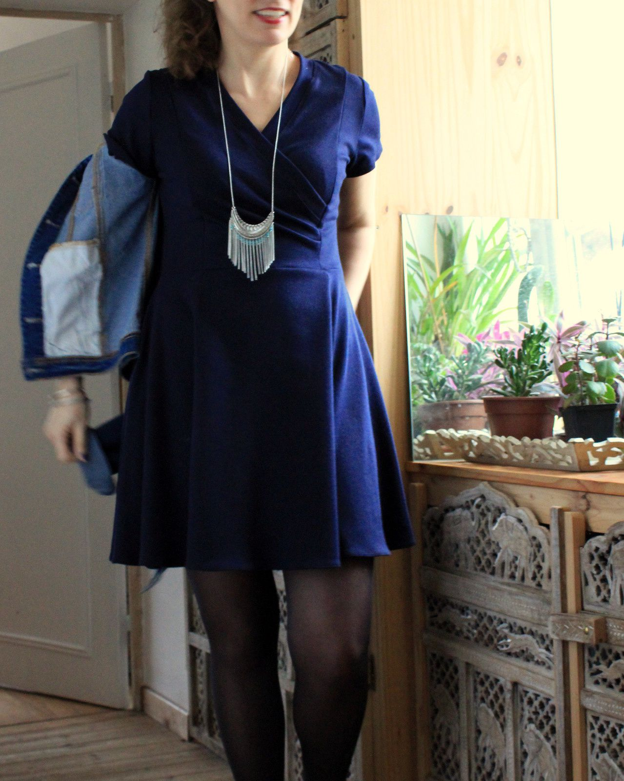 Aldaia dress, projet capsule #1