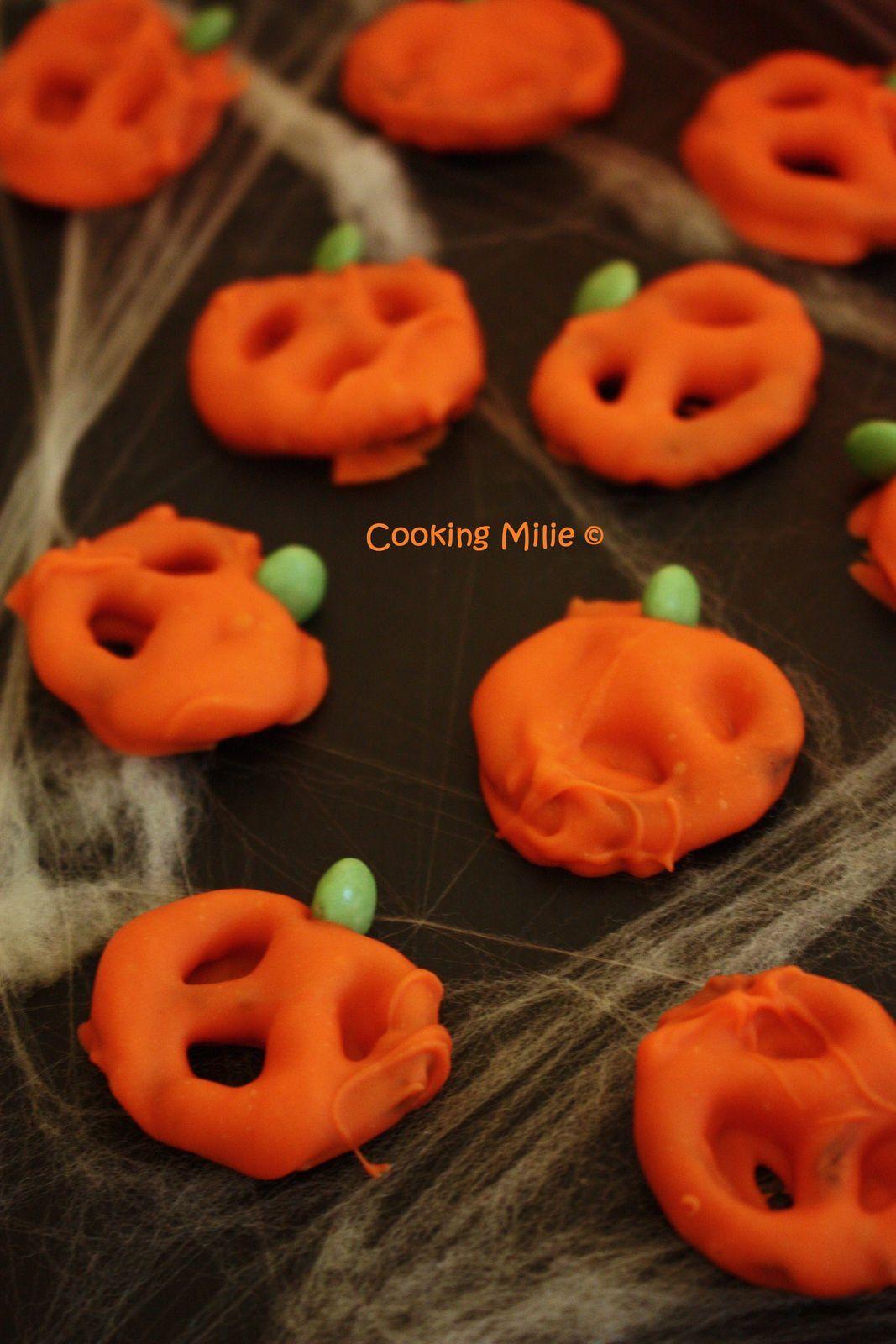 Halloween #20 - Citrouilles bretzel (Pumpkin pretzel)