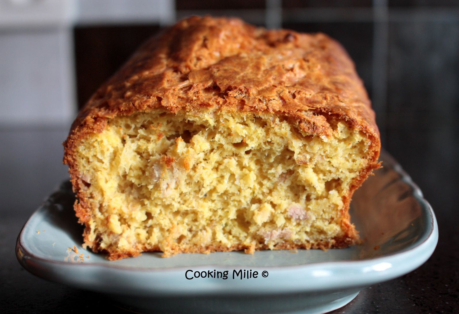 Apéritif dinatoire #91 - Cake au thon et au curry