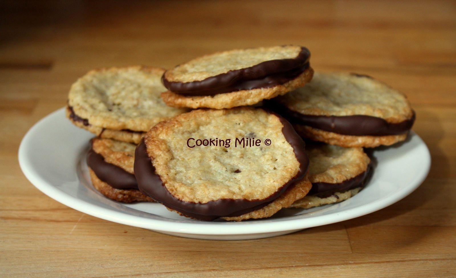 Havreflarn ou biscuits suédois aux flocons d'avoine