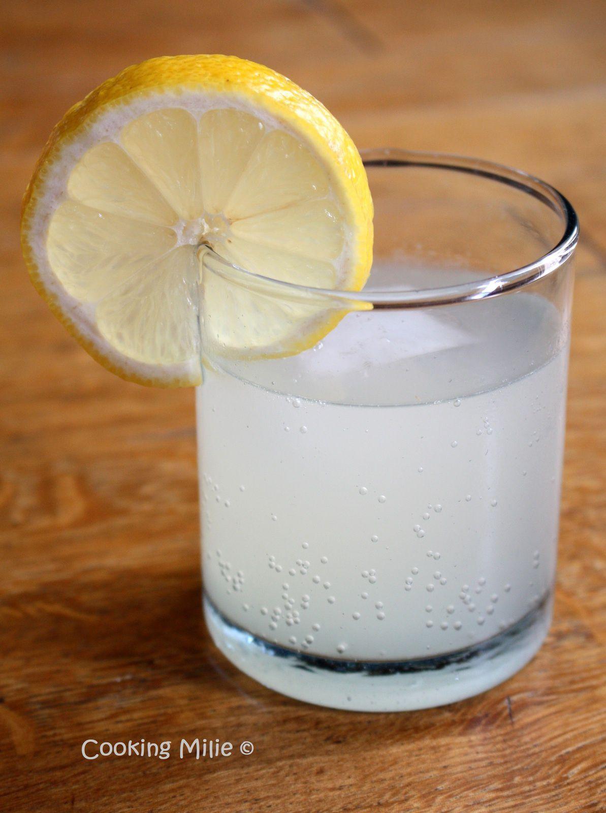 Gingembrade (ou limonade au gingembre)