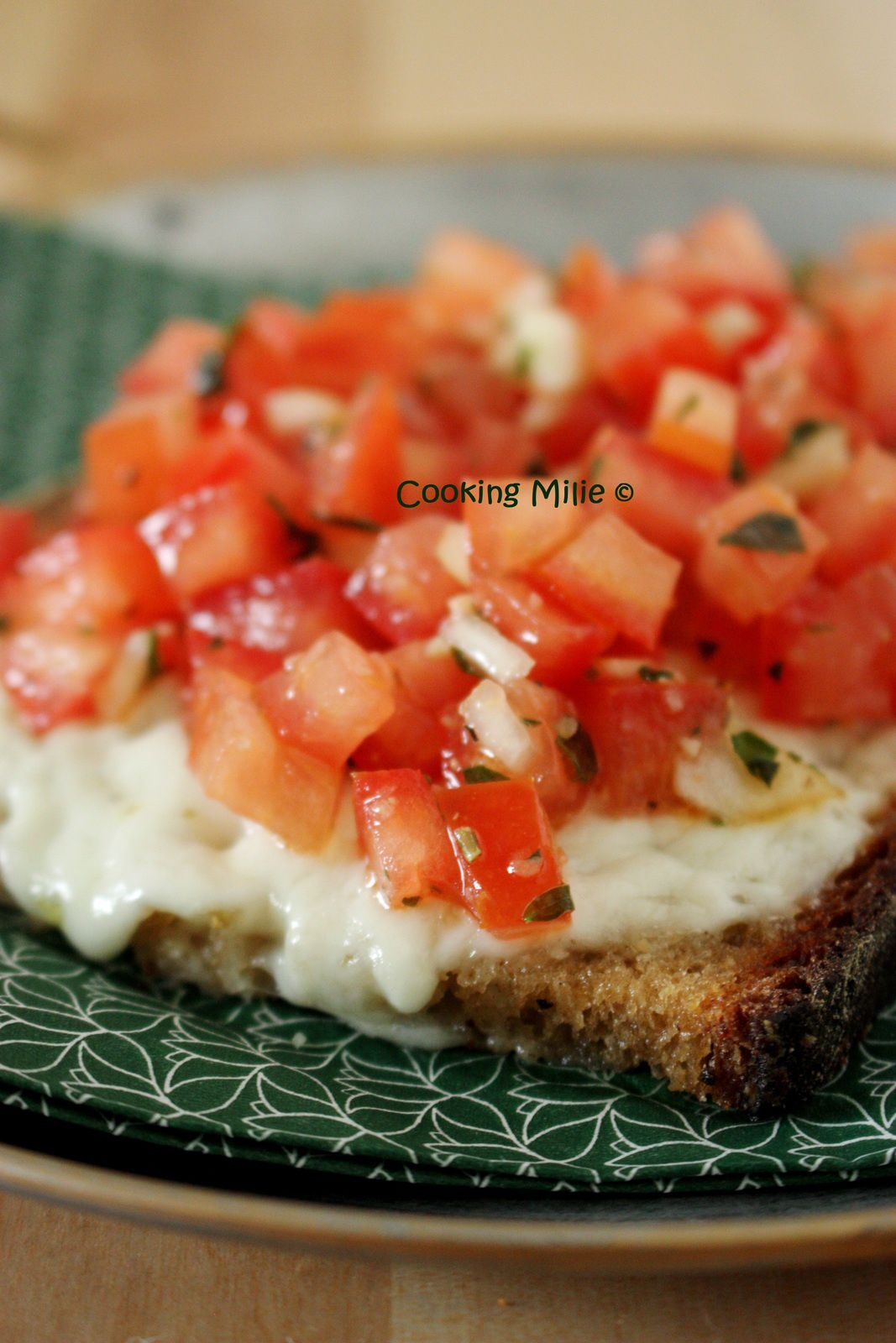 Bruschetta à la salsa de tomates