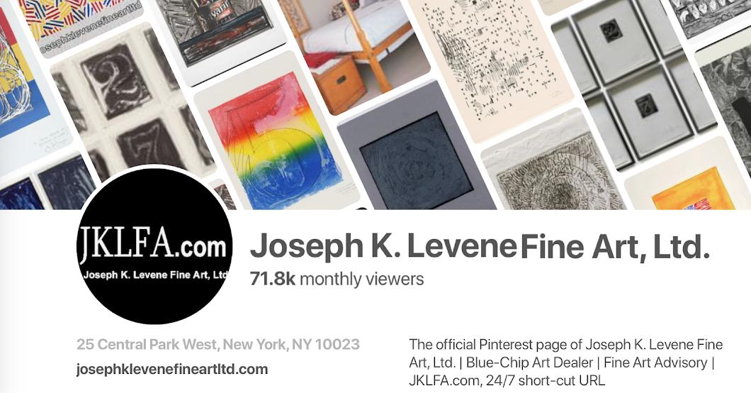 Join 10,000 followers of Joseph K. Levene Fine Art, Ltd. on Pinterest.