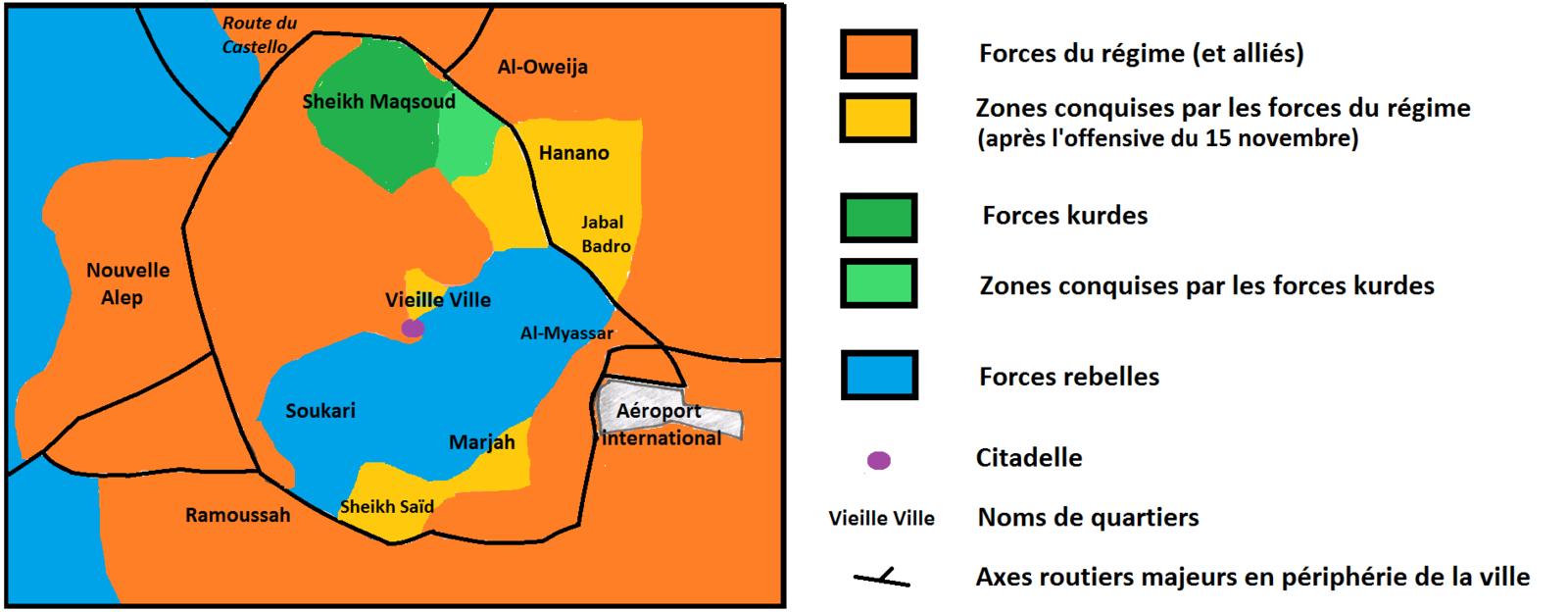 Bataille d'Alep, du 15 au 30 novembre 2016.