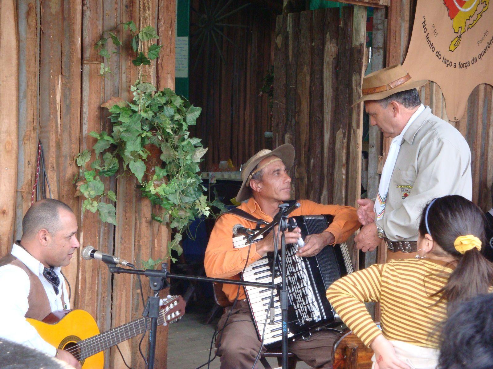 La culture des Gaúchos n'est pas que culinaire et vestimentaire, elle est aussi musicale.
