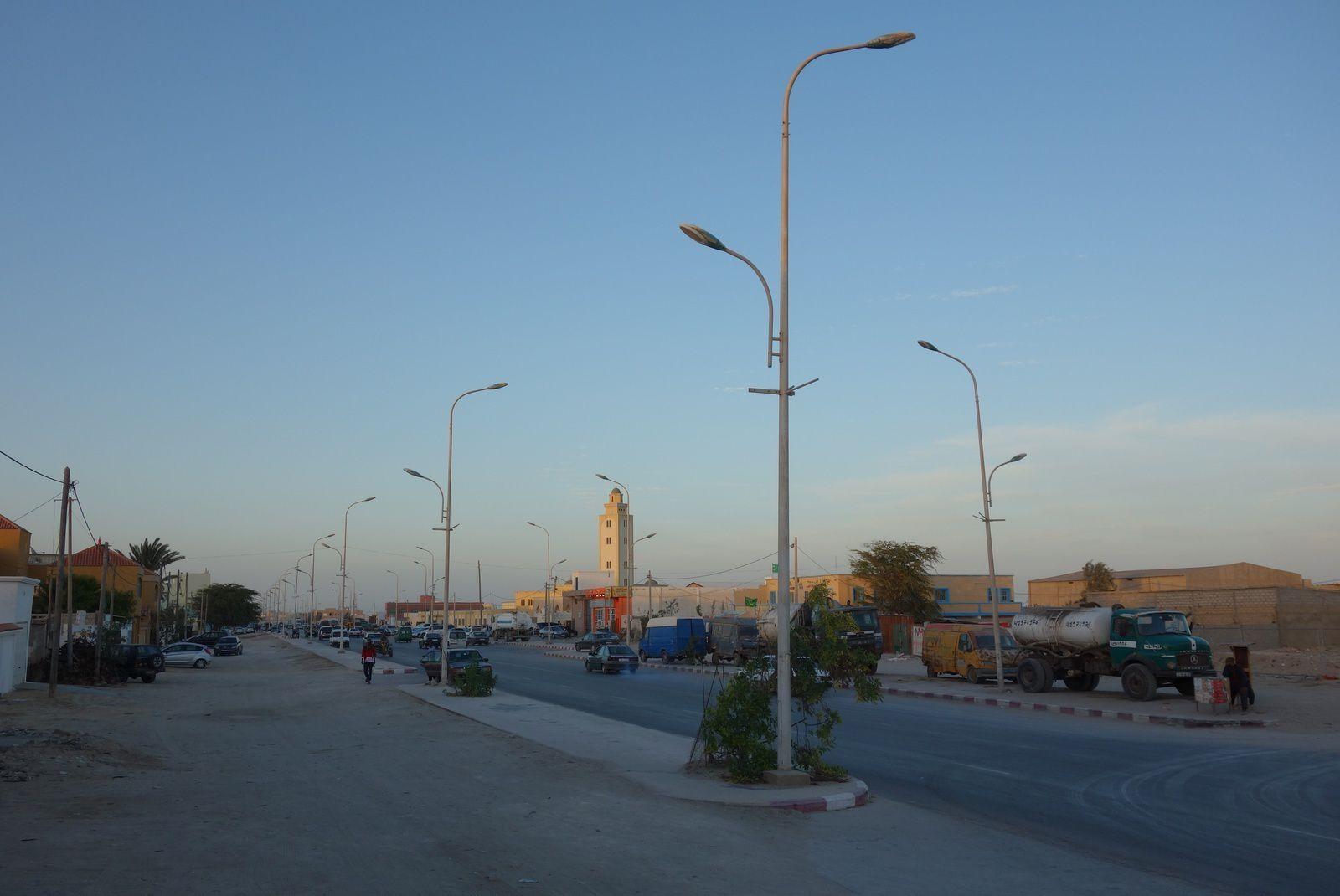 Ville de Nouadhibou.