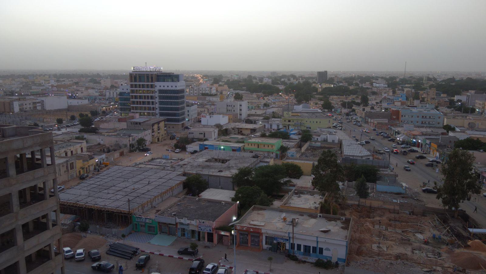 Nouakchott, capitale de la Mauritanie.