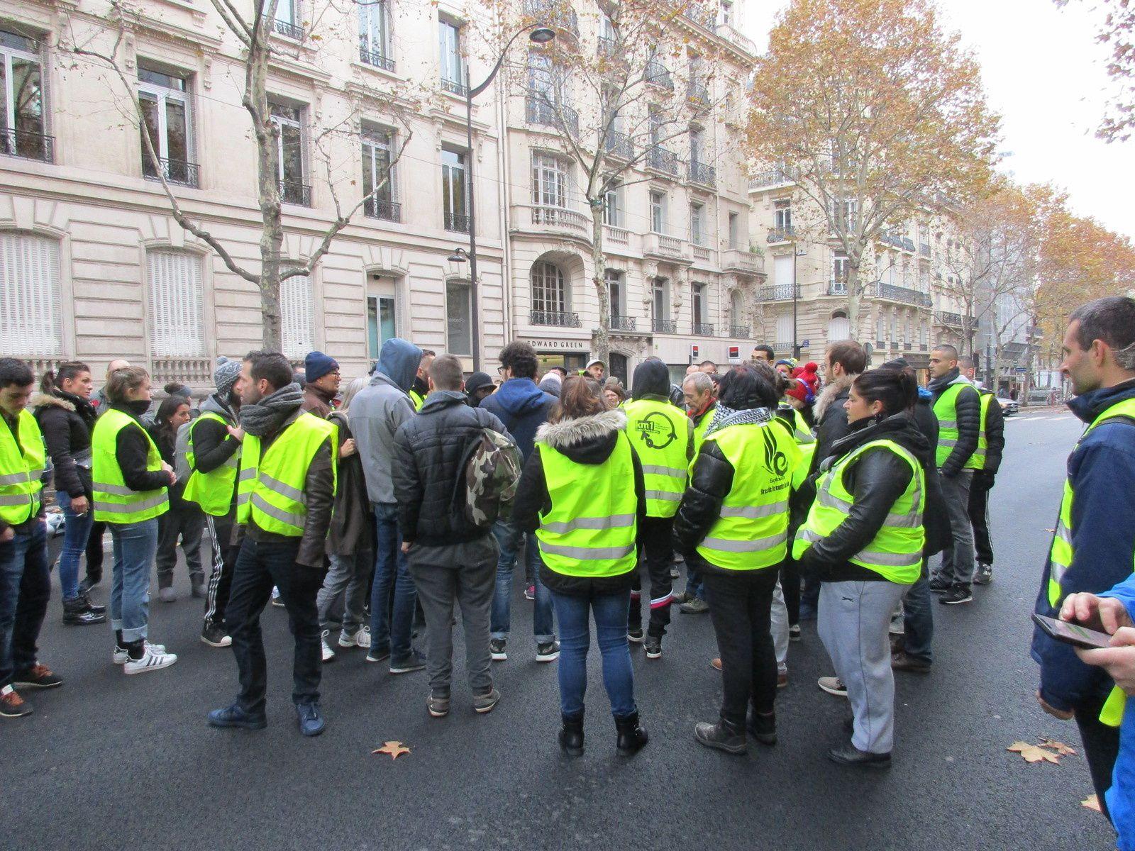 À Paris, le 24 novembre dernier.
