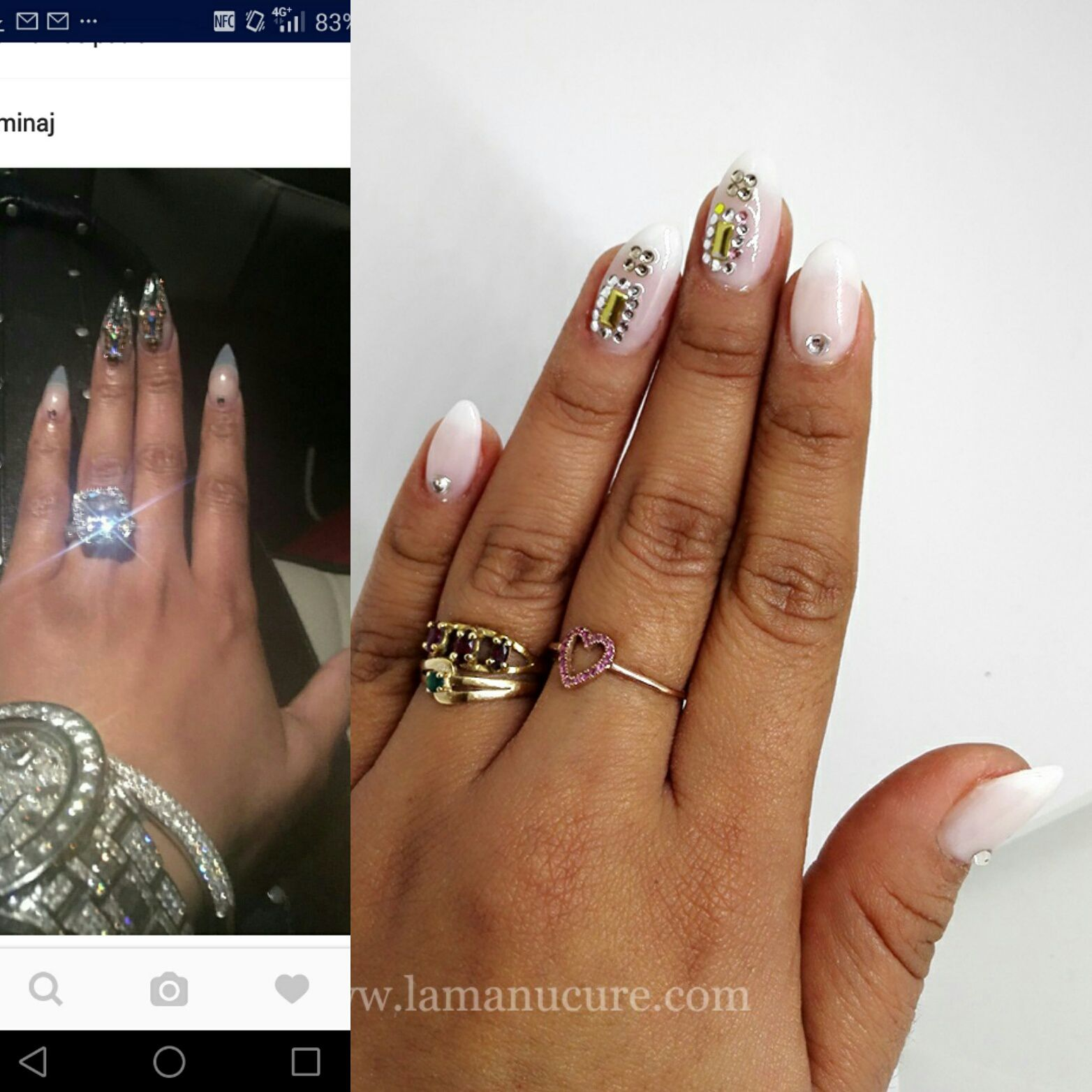 Nail art inspiration Nicki Minaj Bilboard 2016 - lamanucure.over ...