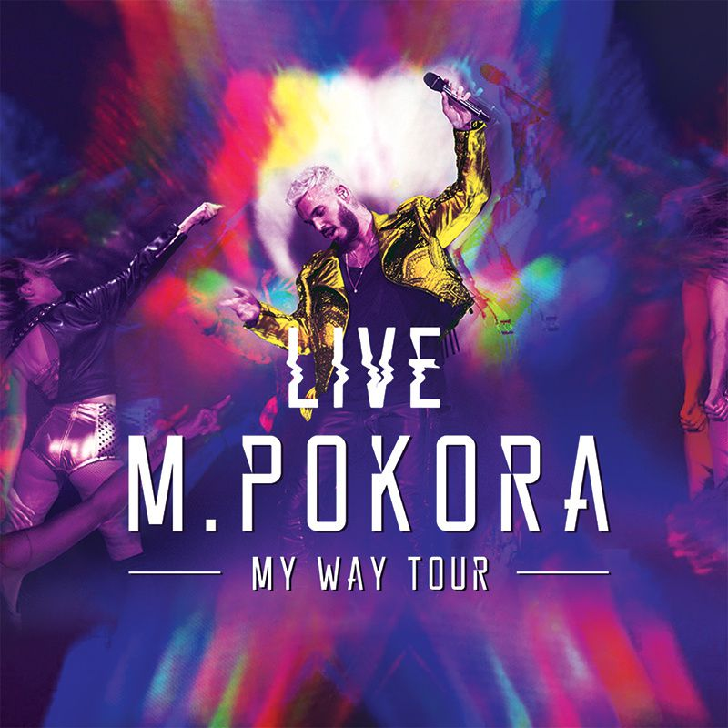 "[Evénement] M.Pokora : le CD/DVD ""My Way Tour Live ..."
