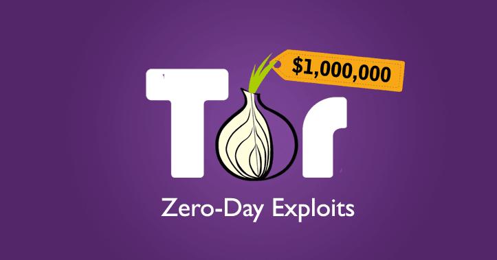 La société Zerodium Offre 1 million de dollars pour des exploits Zero-day dans le navigateur TOR qui seront revendu aux Gouvernements