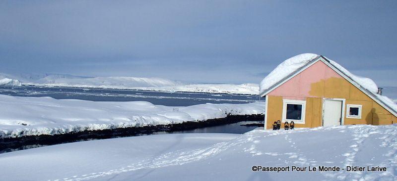 La cabane du chasseur, où nous séjournerons durant quelques jours
