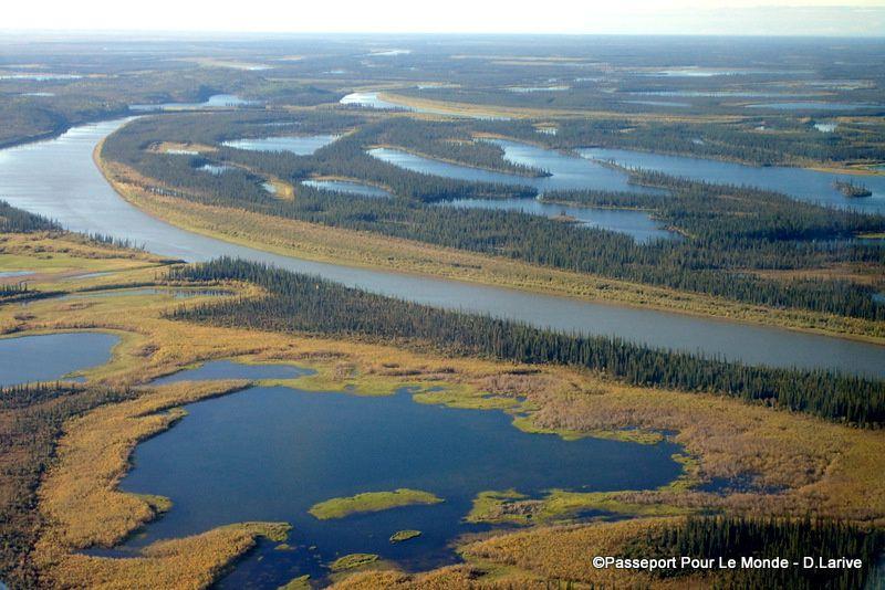 CANADA : Canoë trip : 350 km sur la rivière Porcupine