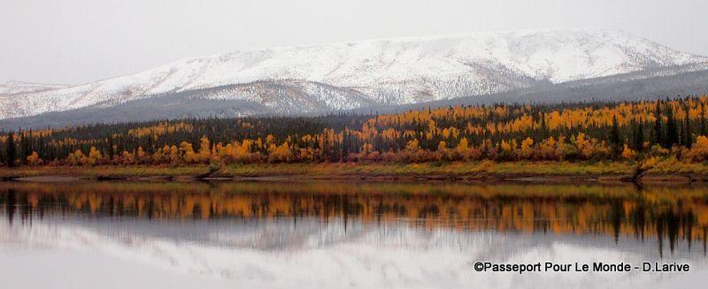 La neige a fait son apparition sur les montagnes