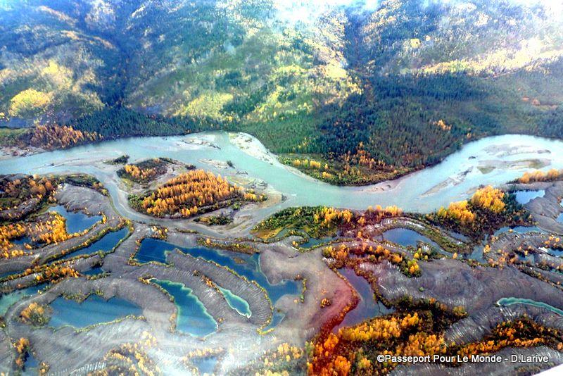 Une peinture ? Non ! Un vrai paysage au coeur du parc National Vuntut