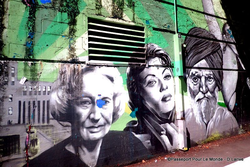 le Street Art : un art que j'affectionne particulièrement
