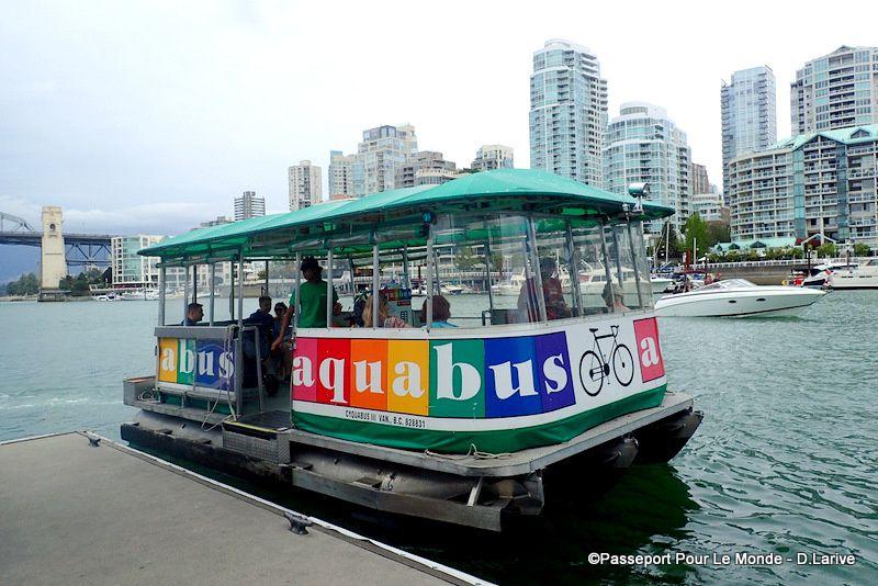 L'Aquabus : un moyen original et sympathique pour se déplacer