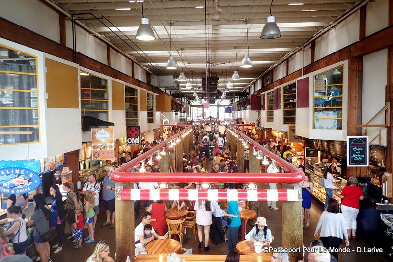 Le marché de Granville : des quantités de produits de qualité