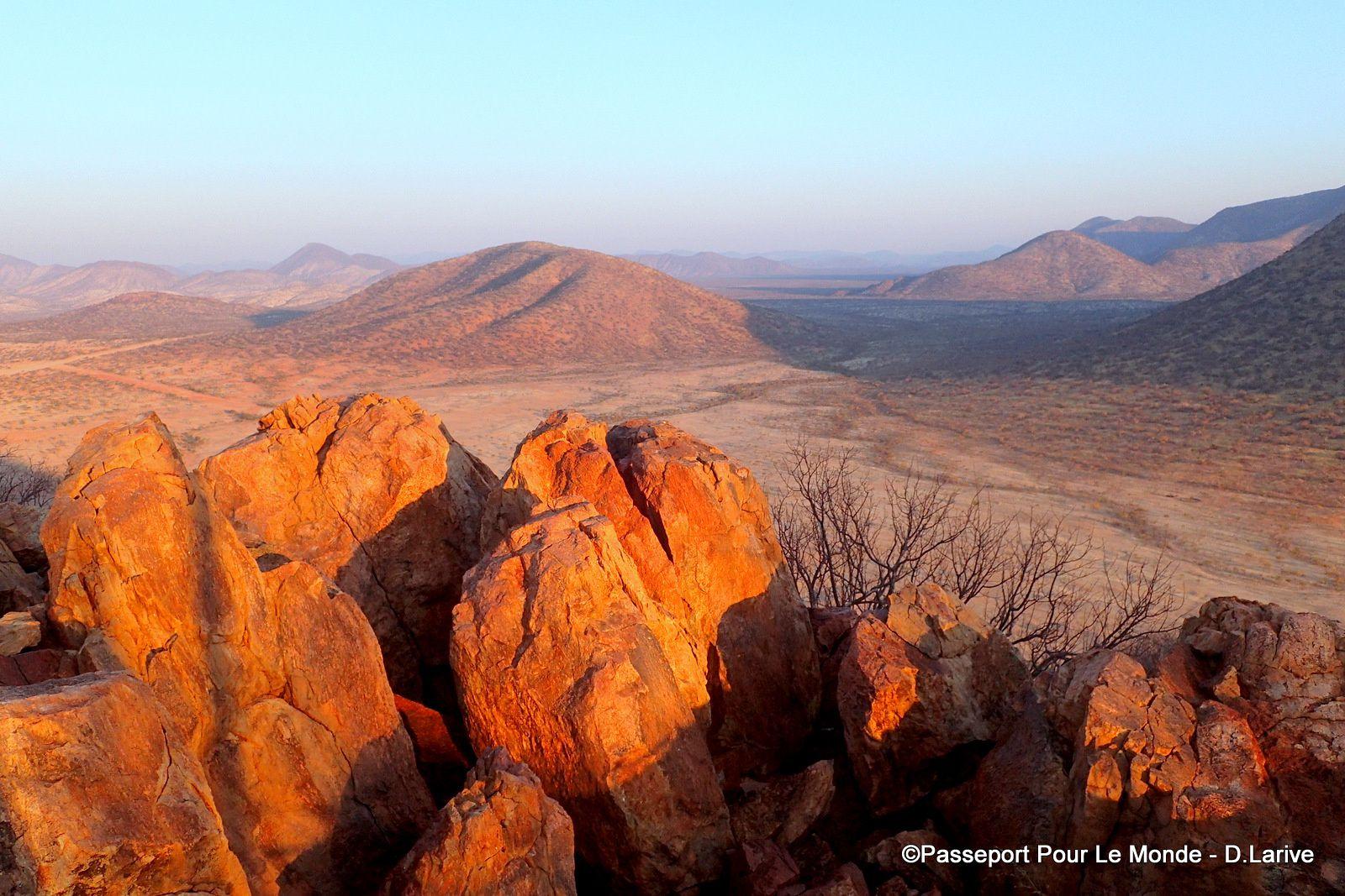 L'immense et magnifique territoire du peuple Himba