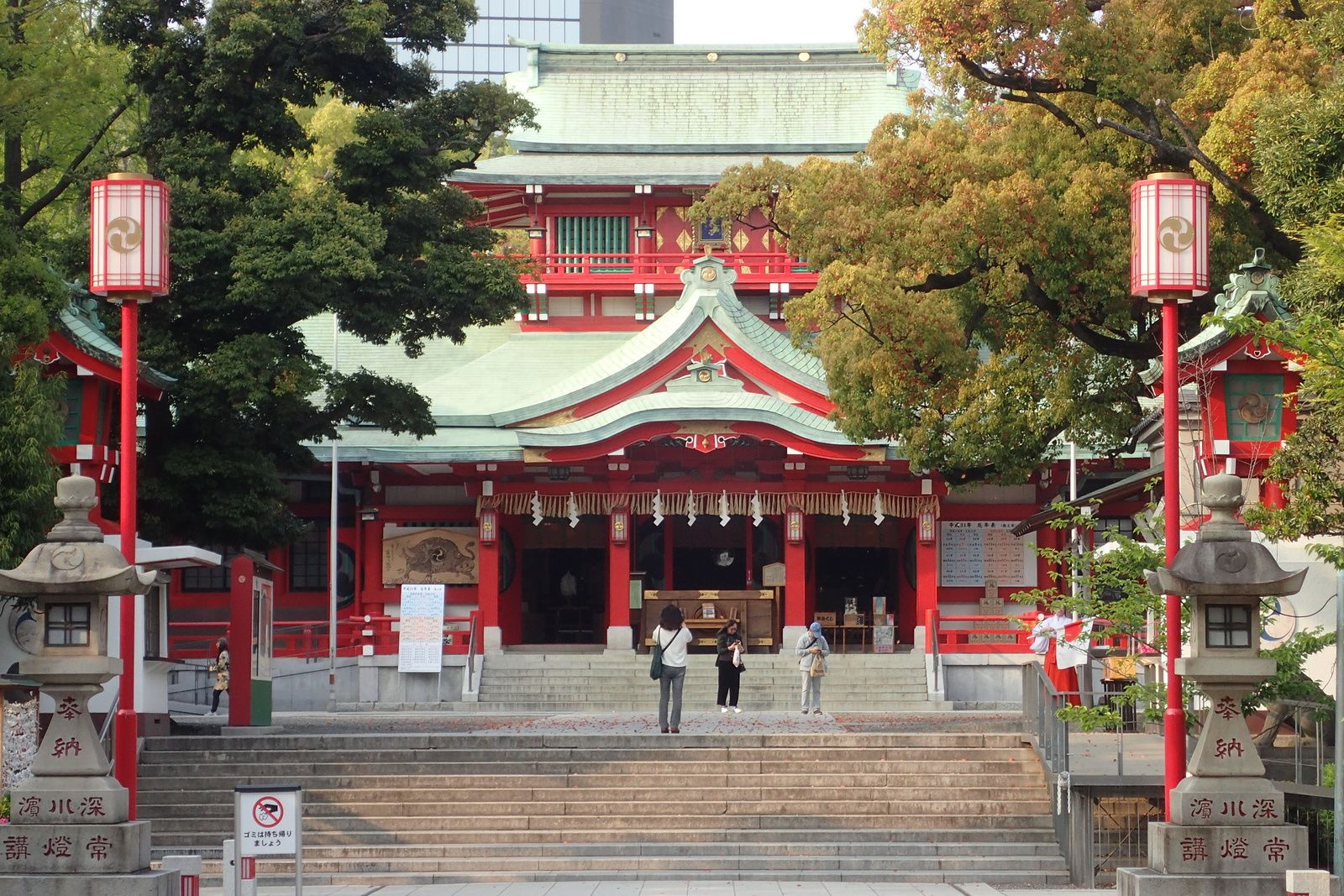 TOMIOKA  HACHIMANGU サンクチュアリー富岡八幡宮