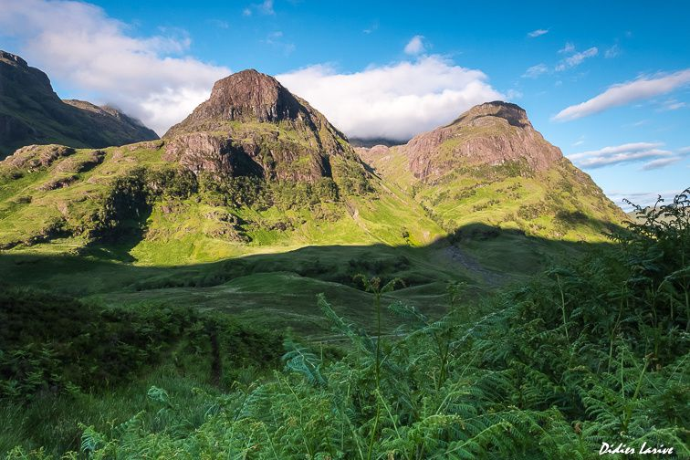 GLENCOE VALLEY TTHREE SISTERS SCOTLAND HIGLANDS