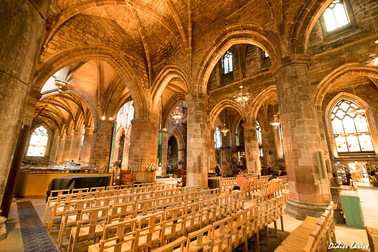 CATHEDRALE ST GILES OLD TOWN EDINBURGH SCOTLAND ECOSSE