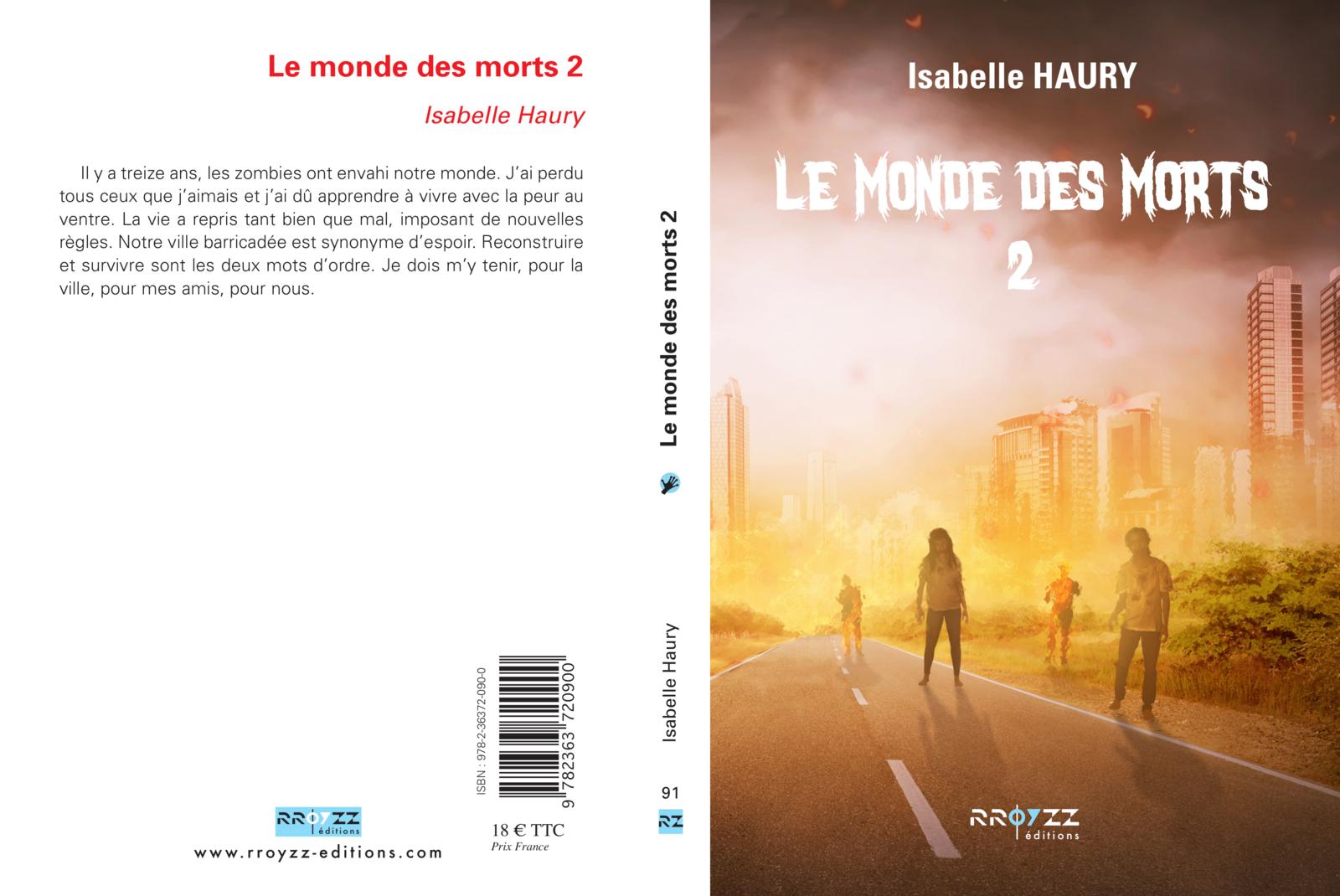 Le Monde des Morts dévoile sa couverture chez Rroyzz Editions