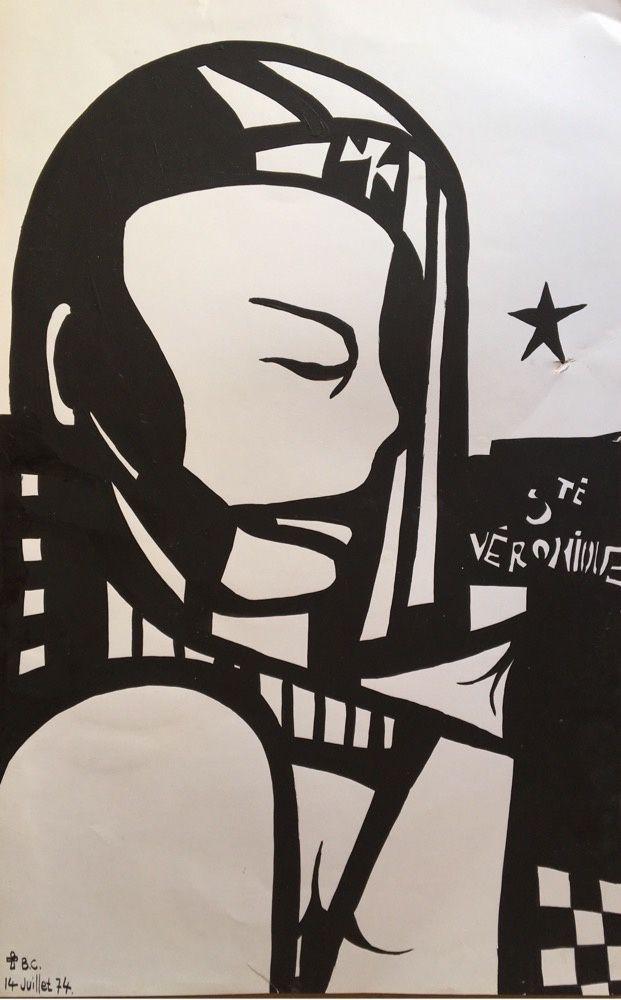 147 - Sainte Véronique 50 x 31