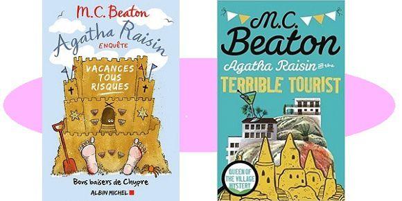 M.C.Beaton: Agatha Raisin – Vacances tous risques (Albin Michel 2017)