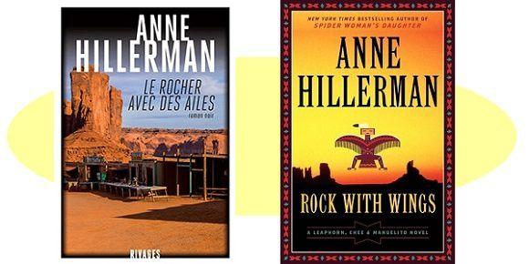 Anne Hillerman: Le Rocher avec des ailes (Éd.Rivages, 2017)