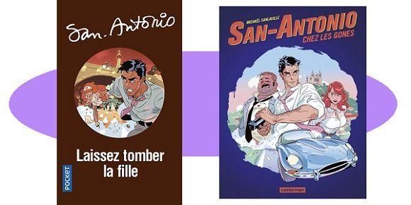 San-Antonio: Laissez tomber la fille (Éd.Pocket, 2018)