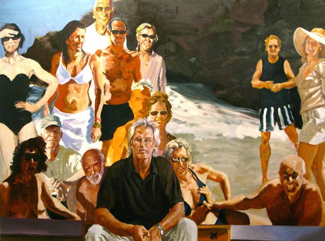 Eric Fischl peintre d'une 'Amérique' Trumpienne ?