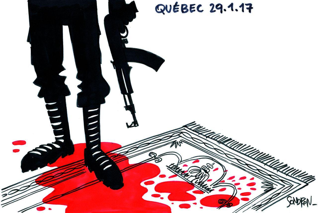 Fusillade dans une mosquée : la leçon de Québec !