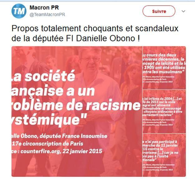 Danièle Obono dans le collimateur
