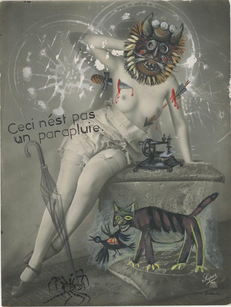 Coco Fronsac la chineuse dadaïste