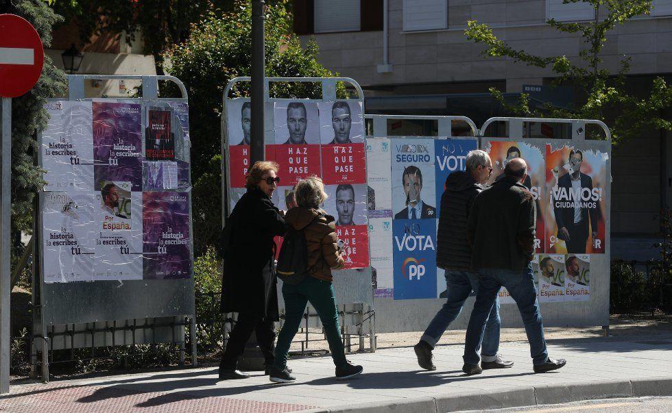 28 AVRIL : l'Espagne une fois encore aux urnes