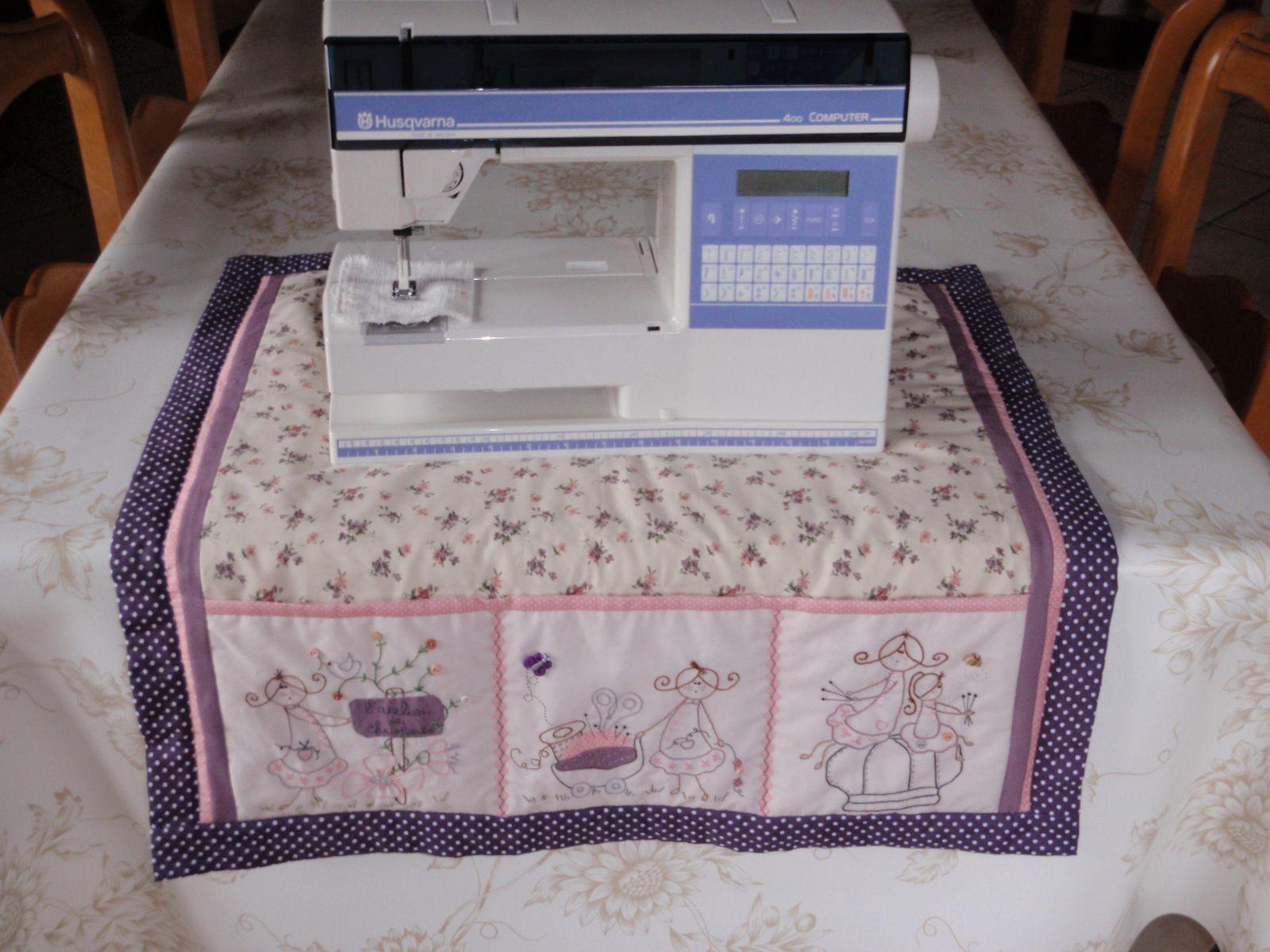 Un tapis de Machine à Coudre