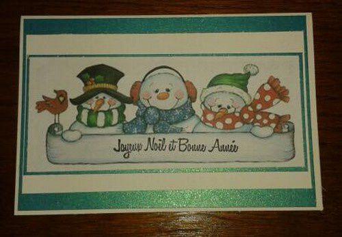 encore des cartes pour Noël