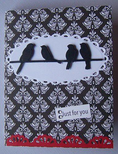 """Cette fois-ci avec une découpe """"oiseaux"""""""