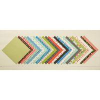 48 jolis papiers fleuris recto verso  en 15x15 à 6.83 €