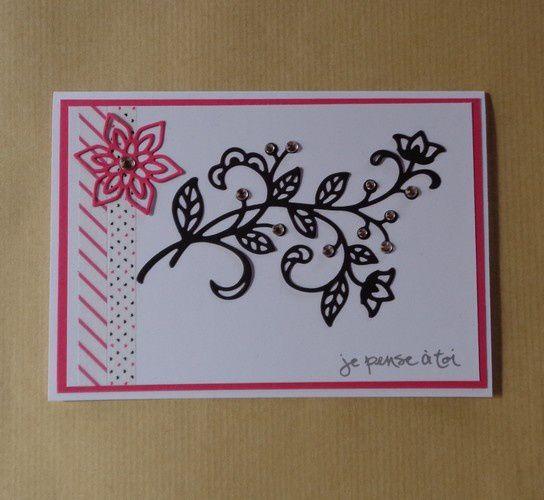 3 Cartes en fleur