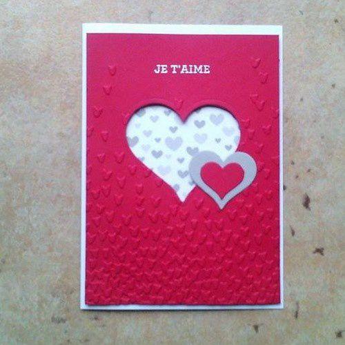 Préparons la St Valentin