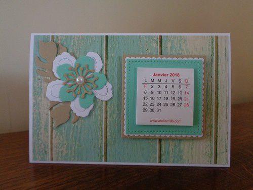 Encore des calendriers à poser !